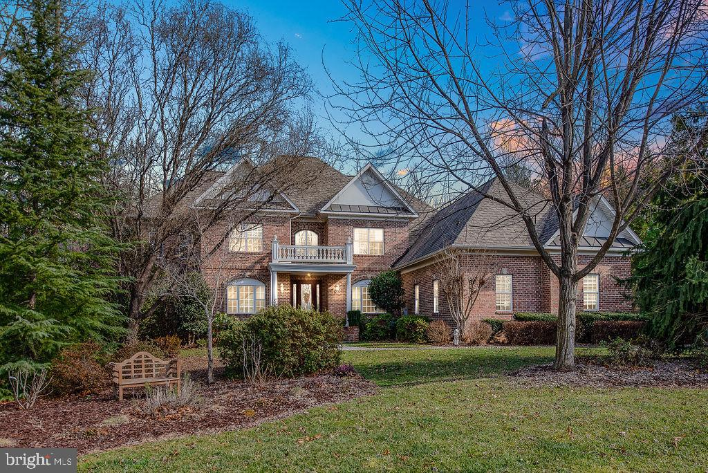 Evening  Shot of This Beautiful Home - 11207 KNOLLS END, SPOTSYLVANIA