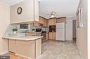 Kitchen with room for stools at bar - 110 ELK DR, HANOVER
