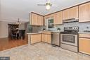 Newer cabinets and laminate flooring - 110 ELK DR, HANOVER