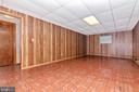 Large rec room in basement - 110 ELK DR, HANOVER