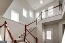 Open stairs to upper level - 42316 GRAHAMS STABLE SQ, ASHBURN