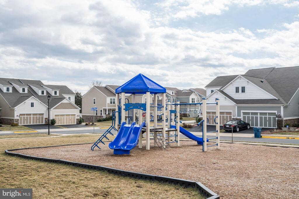 Community playground - 42316 GRAHAMS STABLE SQ, ASHBURN
