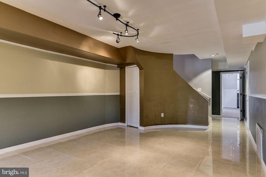 Lower Level Game Area - 2301 TWIN VALLEY LN, SILVER SPRING