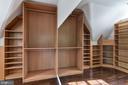 Walk-in Closet Organizer System - 2301 TWIN VALLEY LN, SILVER SPRING