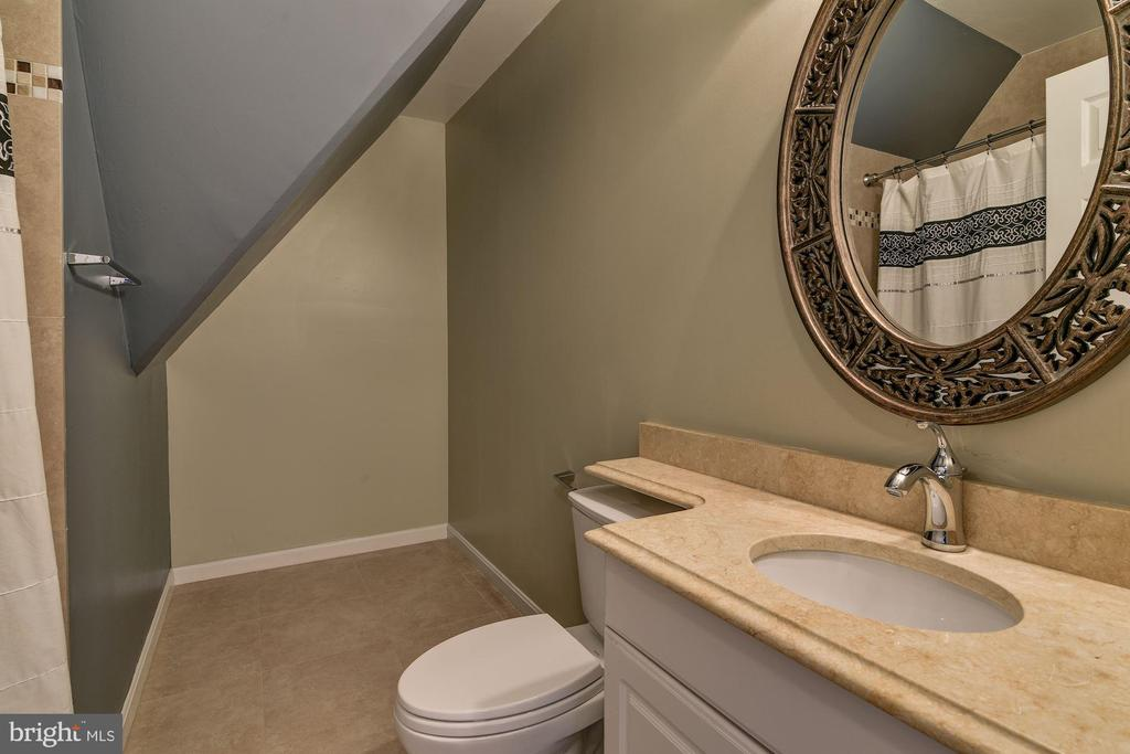Private Full Bath Attached to BR #4 - 2301 TWIN VALLEY LN, SILVER SPRING