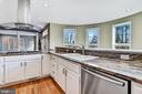 Wrap-around Kitchen & Overlook - 2301 TWIN VALLEY LN, SILVER SPRING