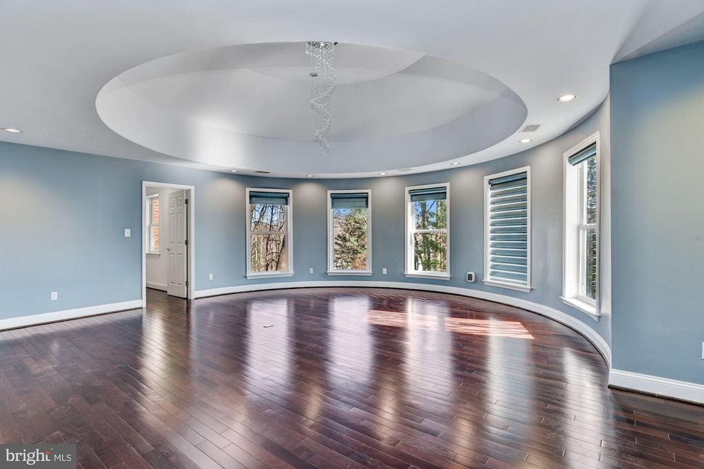 Master Bedroom & Domed Ceiling - 2301 TWIN VALLEY LN, SILVER SPRING