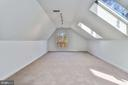 Skylights in Finished Attic - 2301 TWIN VALLEY LN, SILVER SPRING
