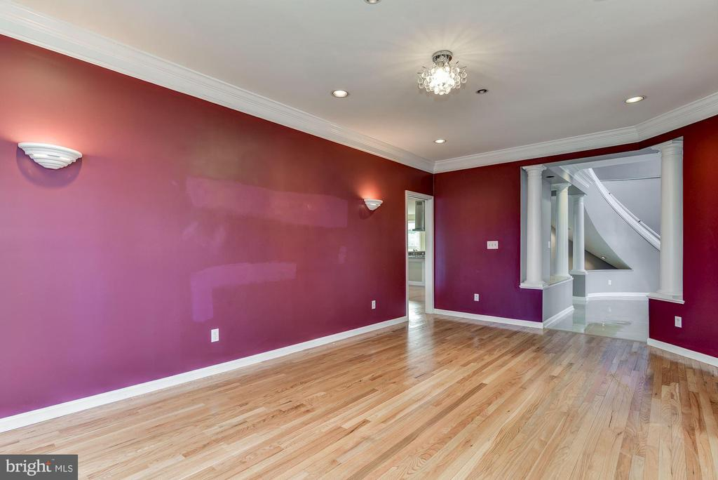 Formal Dining Rm Open to Foyer - 2301 TWIN VALLEY LN, SILVER SPRING