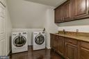 Upper Level Laundry w/Sink & Cabinetry - 2301 TWIN VALLEY LN, SILVER SPRING