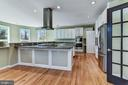 Peninsula w/Cook-top and Stove Hood - 2301 TWIN VALLEY LN, SILVER SPRING