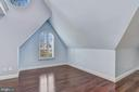 Bedroom #2 w/ Vaulted Ceilings - 2301 TWIN VALLEY LN, SILVER SPRING