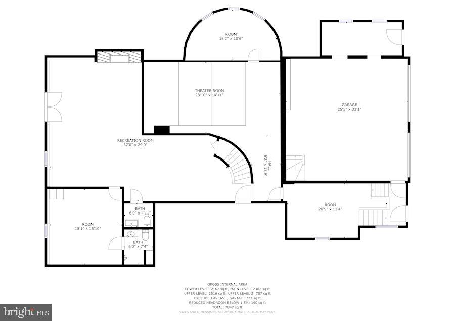 Lower Level - 2301 TWIN VALLEY LN, SILVER SPRING