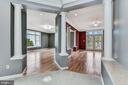 Paired Columns at Living Rm Entry - 2301 TWIN VALLEY LN, SILVER SPRING