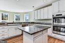 Center Island & Double Wall Oven - 2301 TWIN VALLEY LN, SILVER SPRING