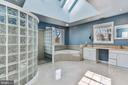 Thematic Curved European Walk-in Shower - 2301 TWIN VALLEY LN, SILVER SPRING