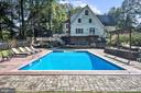 Sparkling In-Ground Pool, Garden Wall & Sun Patio - 2301 TWIN VALLEY LN, SILVER SPRING