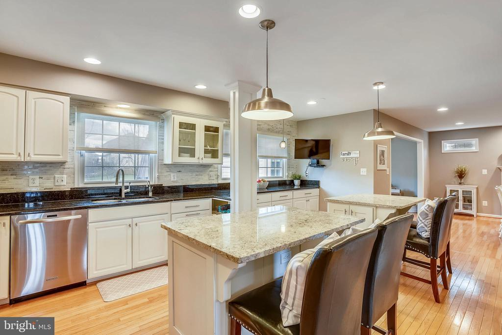 Granite counters, lots of prep space...perfect! - 20702 MANDALAY CT, ASHBURN