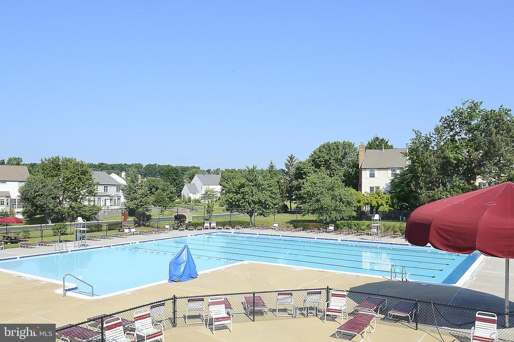 One of the Ashburn Village pools - 20702 MANDALAY CT, ASHBURN