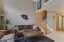 Bright, open floor plan - 6260 WOODRUFF SPRINGS WAY #23, HAYMARKET