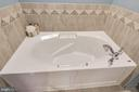 Master Bath soaking tub - 6260 WOODRUFF SPRINGS WAY #23, HAYMARKET