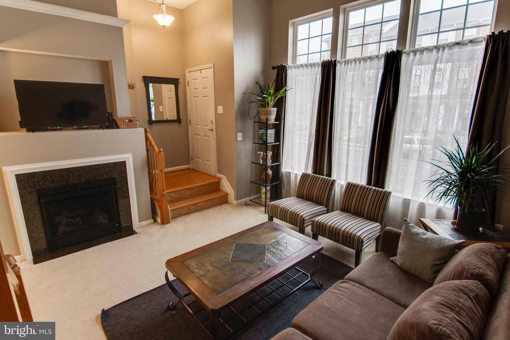Family room entry - 6260 WOODRUFF SPRINGS WAY #23, HAYMARKET