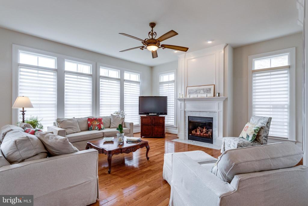 Gorgeous Family Room - 8423 FALCONE POINTE WAY, VIENNA