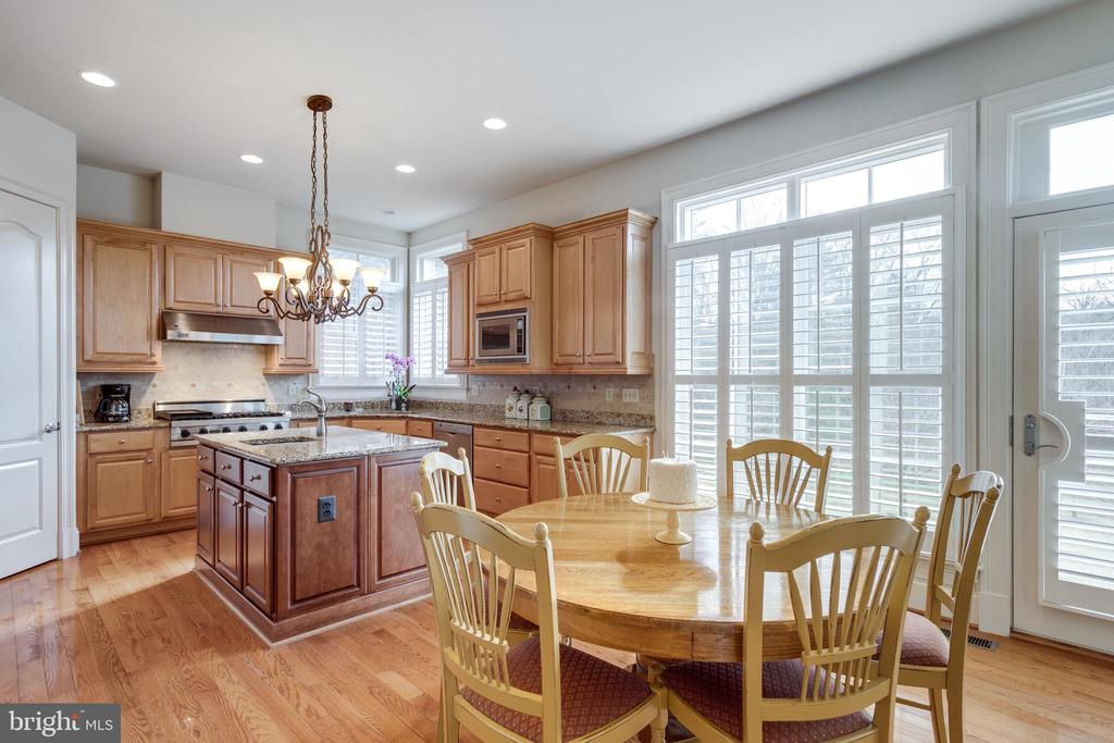 Gorgeous Kitchen Made for a Chef - 8423 FALCONE POINTE WAY, VIENNA