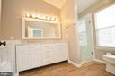 Renovated Master Bathroom - 21563 BANKBARN TER, BROADLANDS