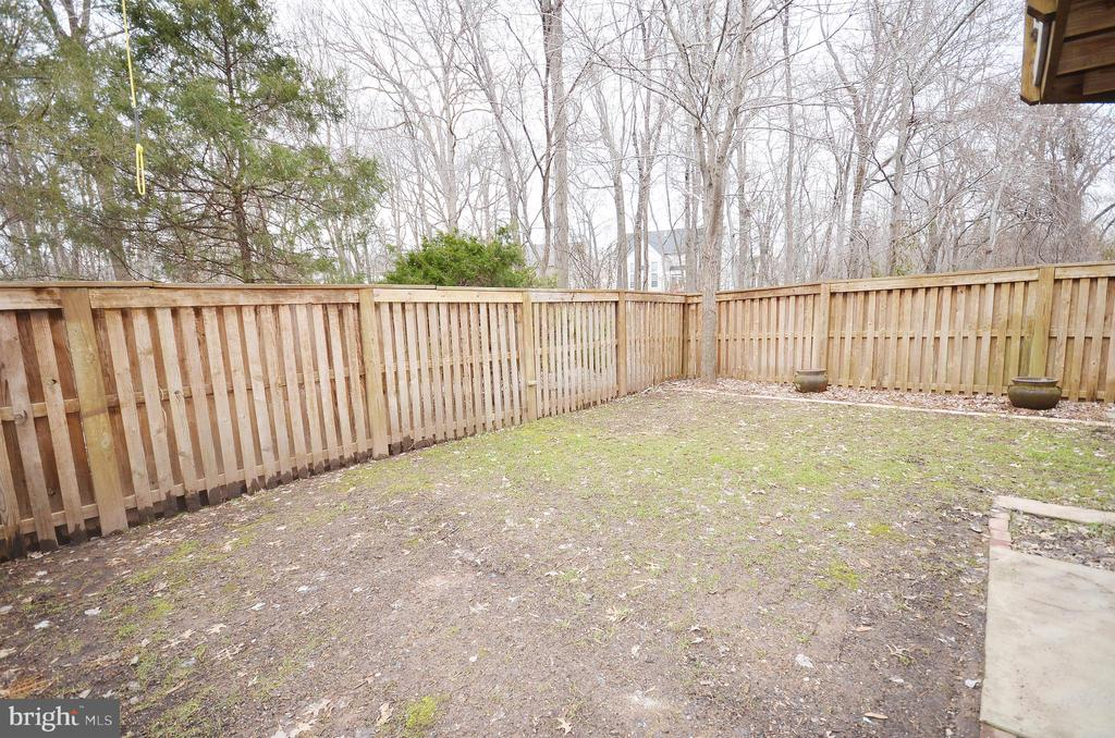 Fenced Rear Yard - 21563 BANKBARN TER, BROADLANDS