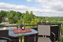 Balcony with great treeline & monument views - 6001 ARLINGTON BLVD #706, FALLS CHURCH