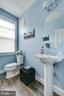 Powder Room - 20497 MILBRIDGE TER, ASHBURN