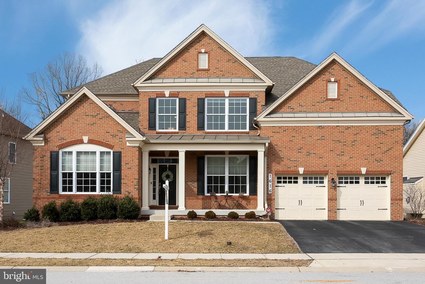 Single Family Home for Sale at 1616 Stream Valley 1616 Stream Valley Severn, Maryland 21144 United States