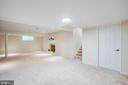 Beautiful fully finished basement - 1100 BEVERLEY DR, ALEXANDRIA