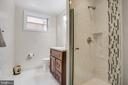 full renovated low-level bathroom - 1100 BEVERLEY DR, ALEXANDRIA