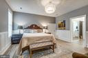Luxurious owner's suite with his and her closets - 1102-A MONROE ST, HERNDON