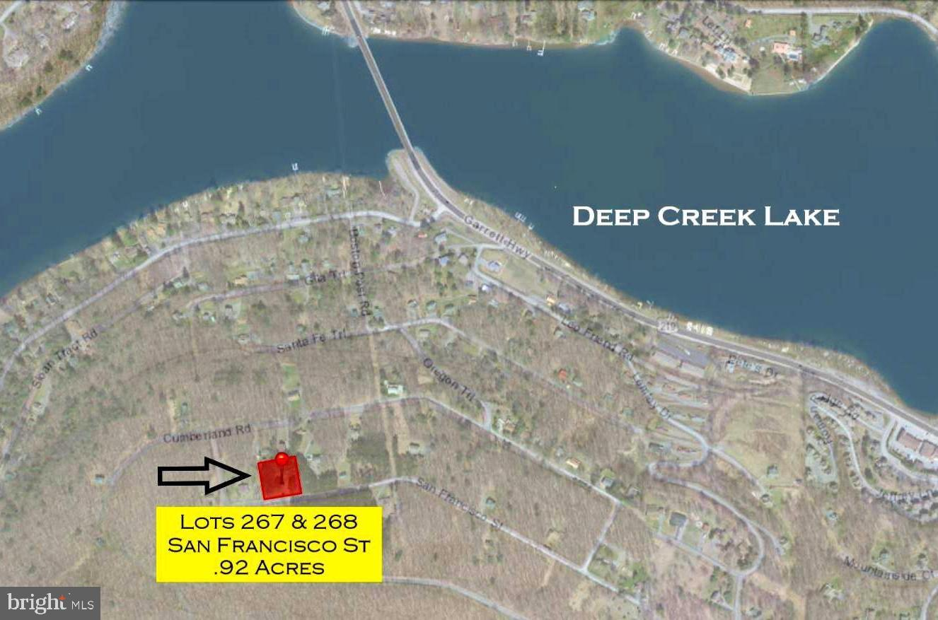 Land for Sale at Lots 267 & 268 San Francisco St Oakland, Maryland 21550 United States