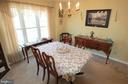 Large Dining Room - 11804 SWITCHBACK LN, FREDERICKSBURG