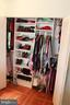 Closet organizers in all bedroom closets ! - 9005 CHERRYTREE DR, ALEXANDRIA