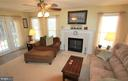 Gas Fireplace - 11804 SWITCHBACK LN, FREDERICKSBURG