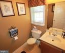 Main Level Half Bath - 11804 SWITCHBACK LN, FREDERICKSBURG