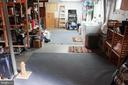 Huge unfinished basement, w/rough-in & outside xit - 9005 CHERRYTREE DR, ALEXANDRIA