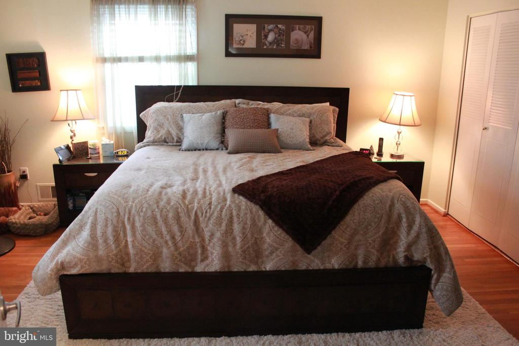 Large Master bedroom - 9005 CHERRYTREE DR, ALEXANDRIA
