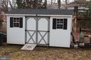 Storage shed - 9005 CHERRYTREE DR, ALEXANDRIA