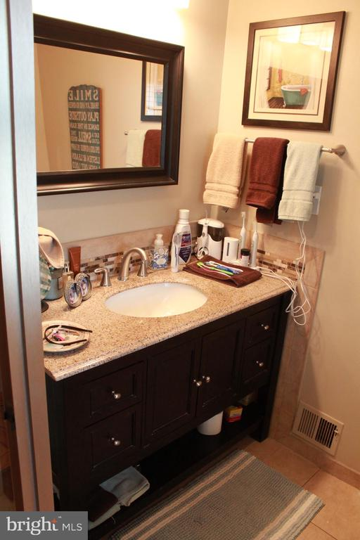 Renovated Master Bath - 9005 CHERRYTREE DR, ALEXANDRIA