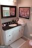 Upstairs Hall Bath - 9005 CHERRYTREE DR, ALEXANDRIA
