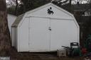 Second storage shed - 9005 CHERRYTREE DR, ALEXANDRIA