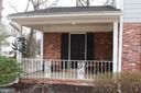 Front Porch - 9005 CHERRYTREE DR, ALEXANDRIA