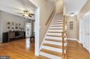 Bright, open foyer - 13762 JAMES MONROE HWY, LEESBURG