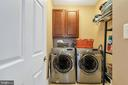 Convenient laundry room - 13762 JAMES MONROE HWY, LEESBURG